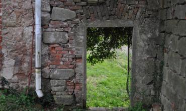 Zeď kolem zámecké zahrady