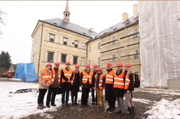 Návštěva norské velvyslankyně na Zámku Svijany