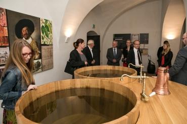 Interaktivní expozice pivovarnictví
