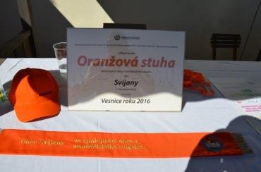 Oranžová stuha