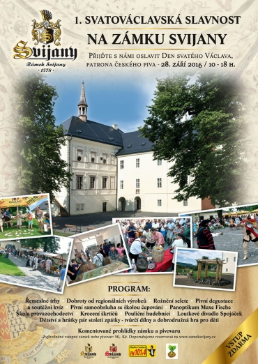 1. Svatováclavská slavnost - Plakát