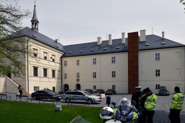 Návštěva prezidenta republiky na Zámku Svijany