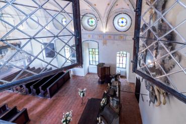 Pohled do zámecké kaple