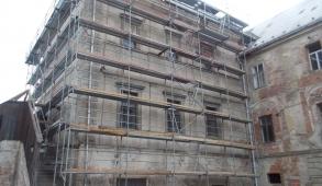 Oprava fasády - Jaro